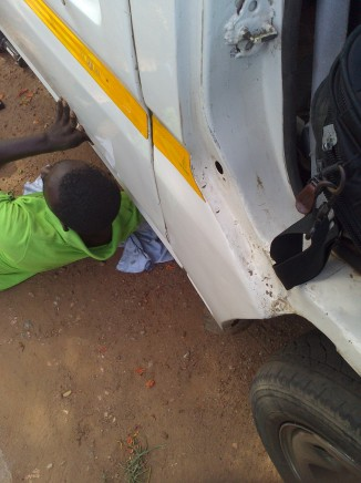 Driver and Trotro